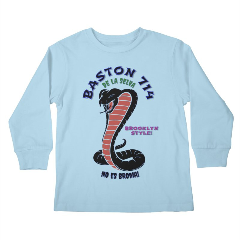 De La Selva! Kids Longsleeve T-Shirt by Baston's T-Shirt Emporium!
