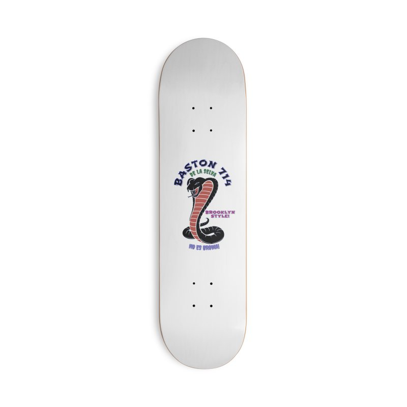 Baston De la Selva Accessories Skateboard by Baston's T-Shirt Emporium!