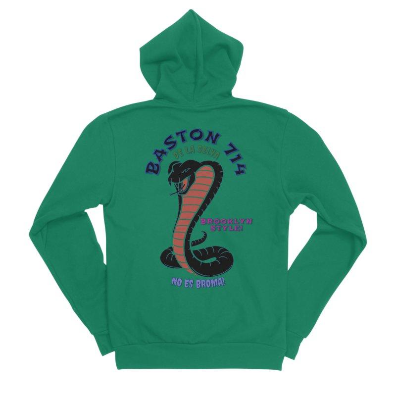 Baston De la Selva Women's Sponge Fleece Zip-Up Hoody by Baston's T-Shirt Emporium!