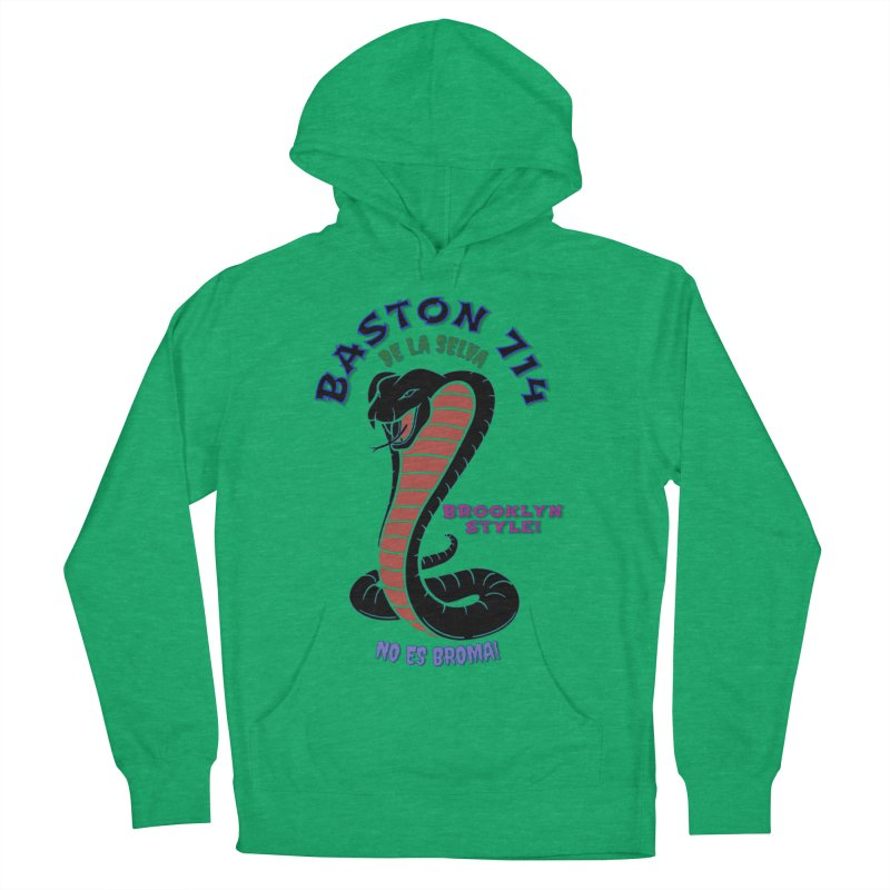 Baston De la Selva Women's French Terry Pullover Hoody by Baston's T-Shirt Emporium!