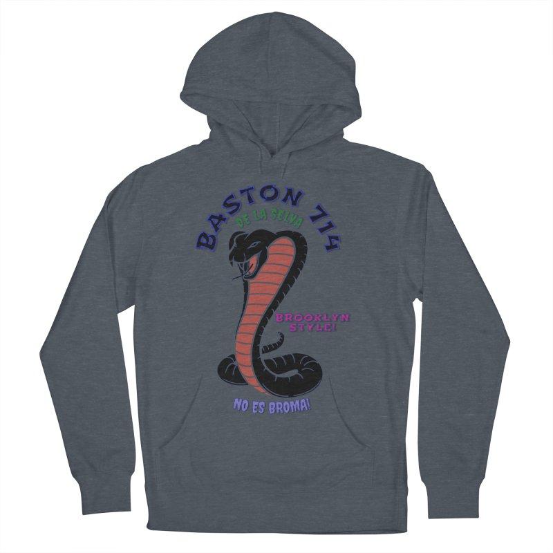 Baston De la Selva Men's French Terry Pullover Hoody by Baston's T-Shirt Emporium!