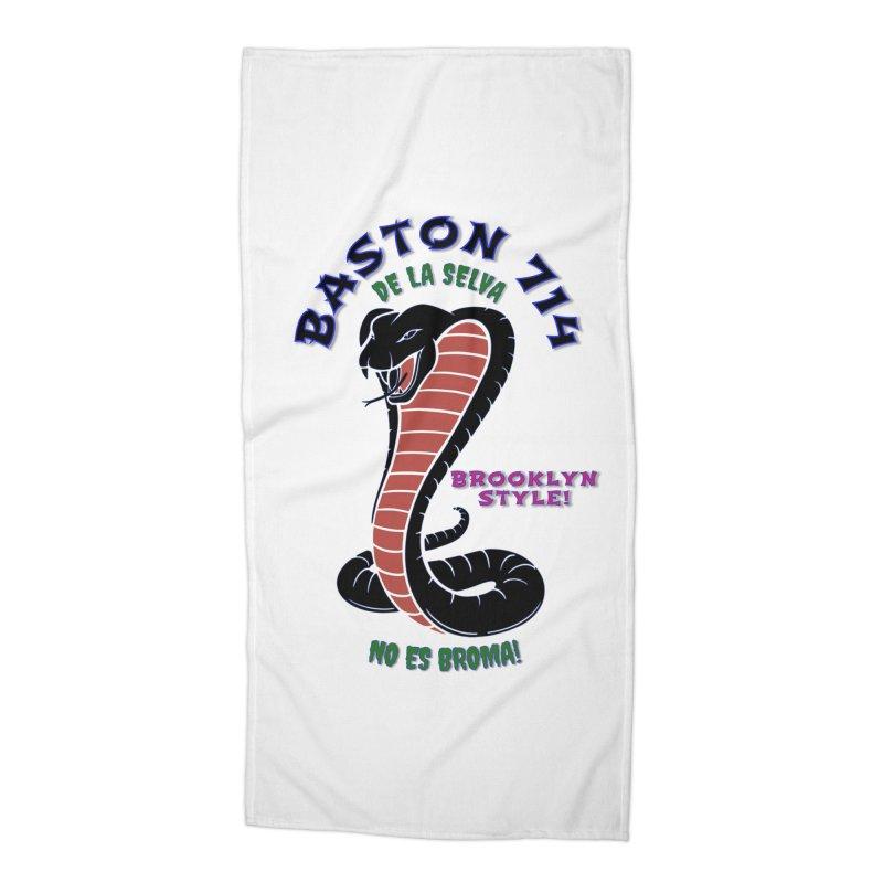 Baston De La Selva! Accessories Beach Towel by Baston's T-Shirt Emporium!