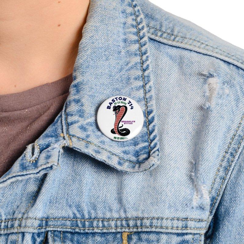 Baston De La Selva! Accessories Button by Baston's T-Shirt Emporium!