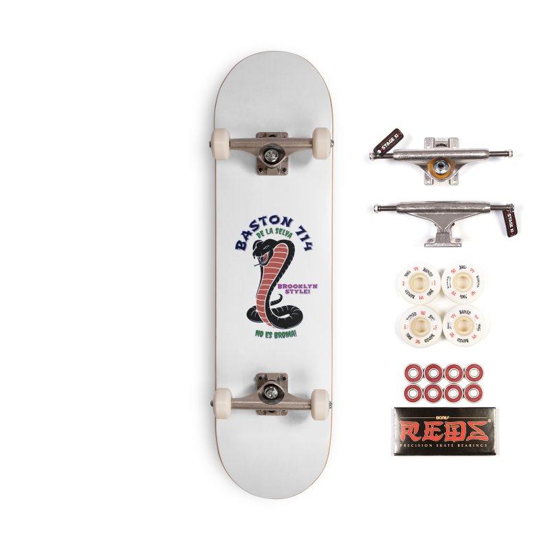 Baston De La Selva! Accessories Complete - Pro Skateboard by Baston's T-Shirt Emporium!