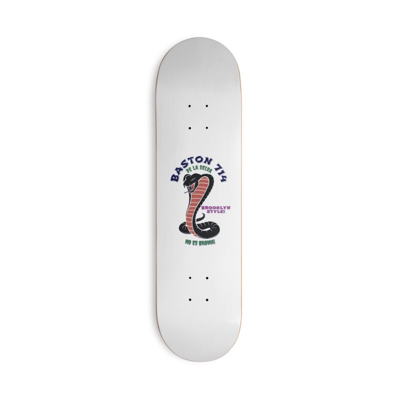 Baston De La Selva! Accessories Deck Only Skateboard by Baston's T-Shirt Emporium!