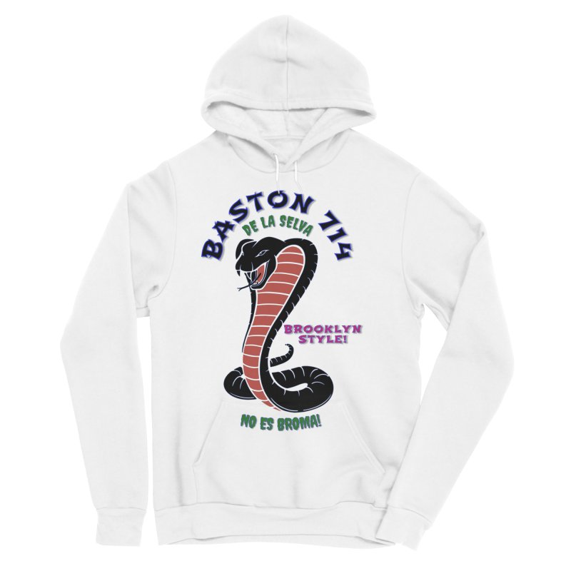 Baston De La Selva! Women's Sponge Fleece Pullover Hoody by Baston's T-Shirt Emporium!