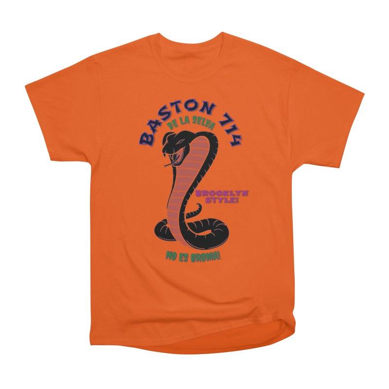 Baston De La Selva! Women's Heavyweight Unisex T-Shirt by Baston's T-Shirt Emporium!