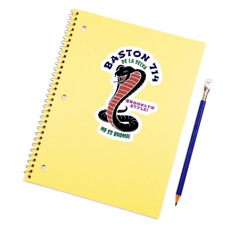 Baston De La Selva! Accessories Sticker by Baston's T-Shirt Emporium!