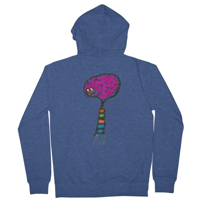 Brainiac Women's Zip-Up Hoody by Baston's T-Shirt Emporium!