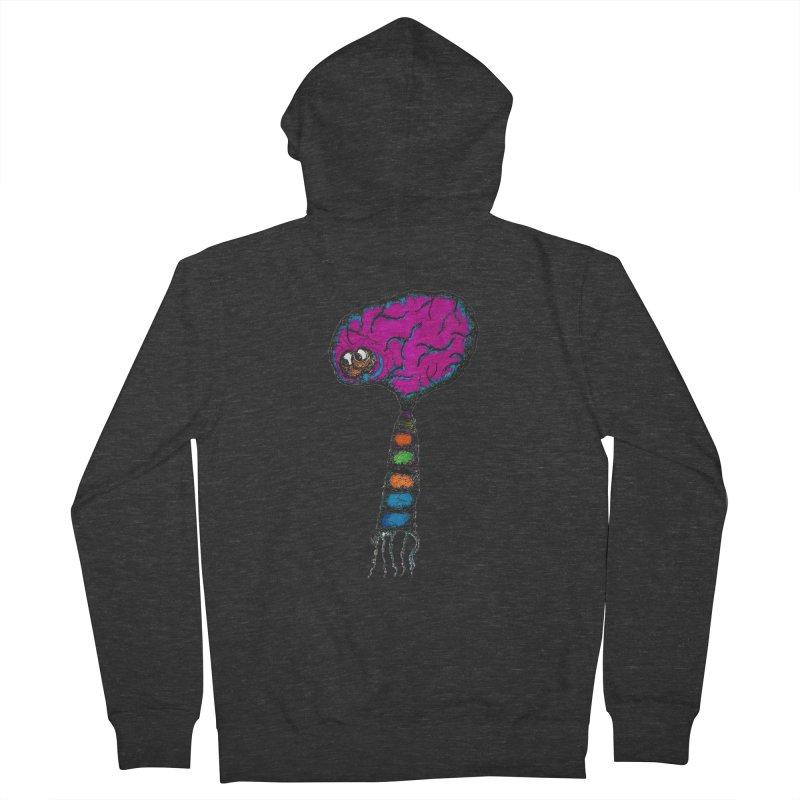 Brainiac Men's Zip-Up Hoody by Baston's T-Shirt Emporium!