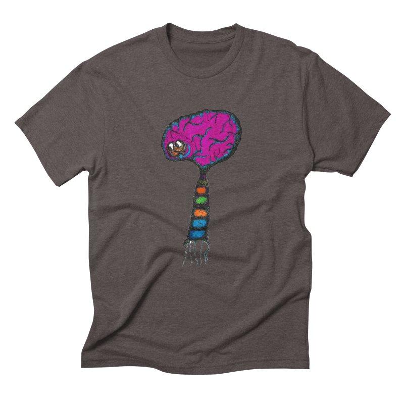 Brainiac Men's Triblend T-shirt by Baston's T-Shirt Emporium!