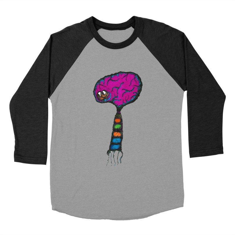 Brainiac Men's Baseball Triblend T-Shirt by Baston's T-Shirt Emporium!
