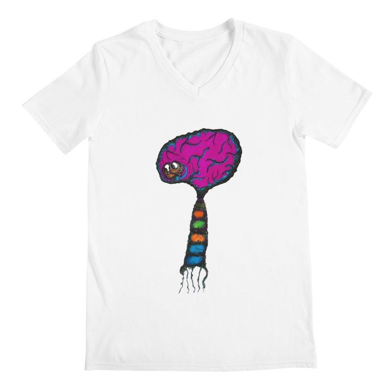 Brainiac Men's V-Neck by Baston's T-Shirt Emporium!