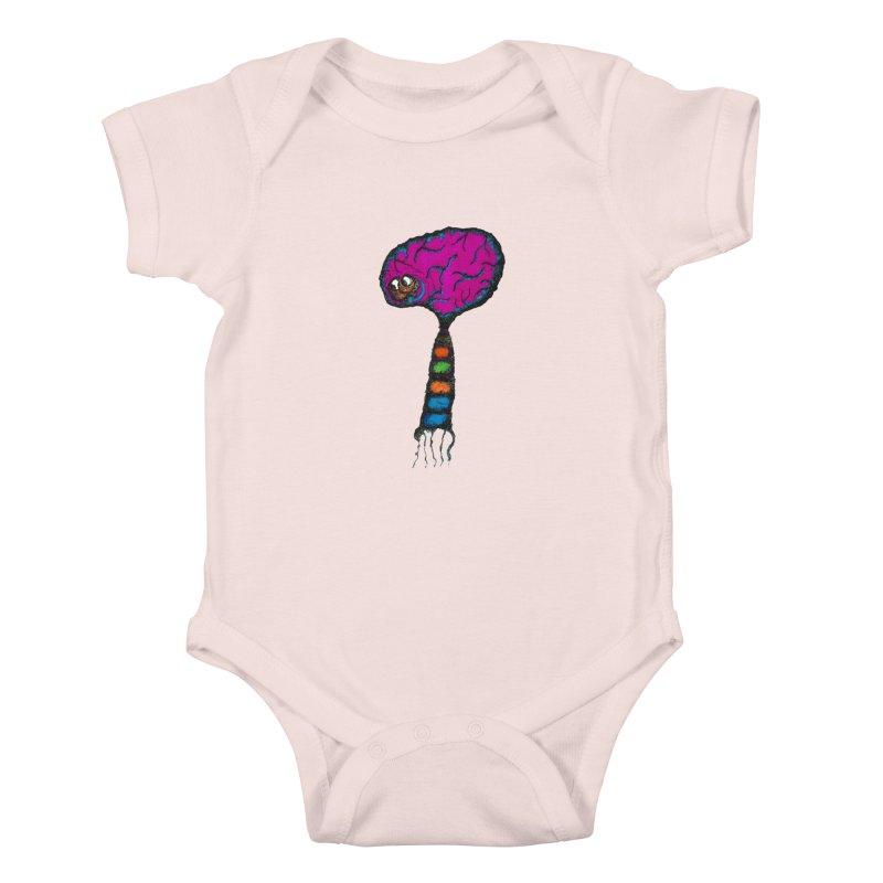 Brainiac Kids Baby Bodysuit by Baston's T-Shirt Emporium!