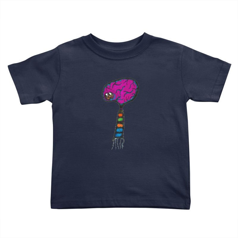 Brainiac Kids Toddler T-Shirt by Baston's T-Shirt Emporium!