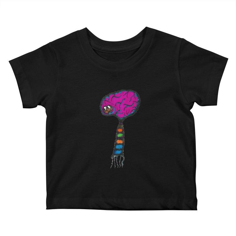 Brainiac Kids Baby T-Shirt by Baston's T-Shirt Emporium!