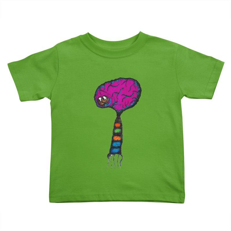 Brainiac Kids Toddler T-Shirt by Baston's T-Shirt Emporium!