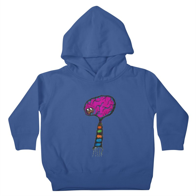 Brainiac Kids Toddler Pullover Hoody by Baston's T-Shirt Emporium!