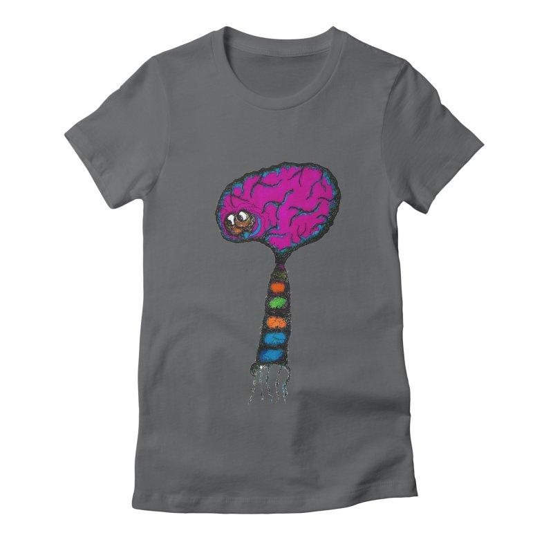 Brainiac Women's Fitted T-Shirt by Baston's T-Shirt Emporium!