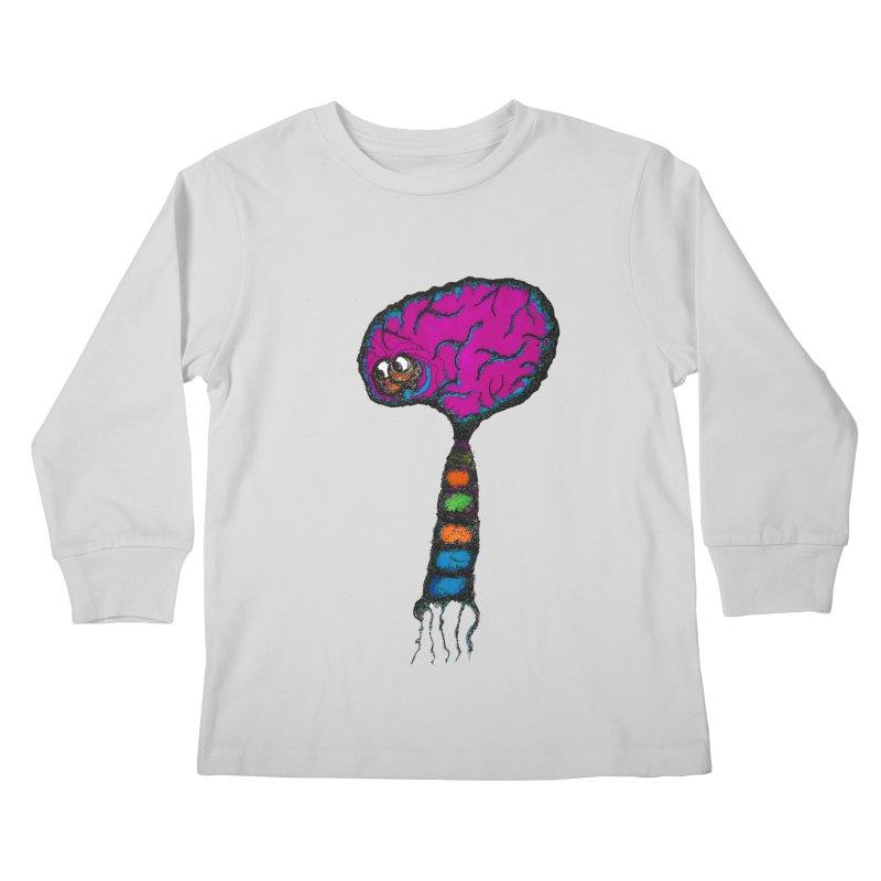 Brainiac Kids Longsleeve T-Shirt by Baston's T-Shirt Emporium!