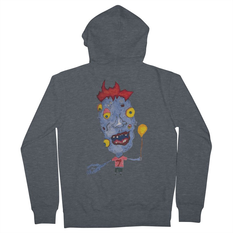 Wonder Boy! Men's Zip-Up Hoody by Baston's T-Shirt Emporium!