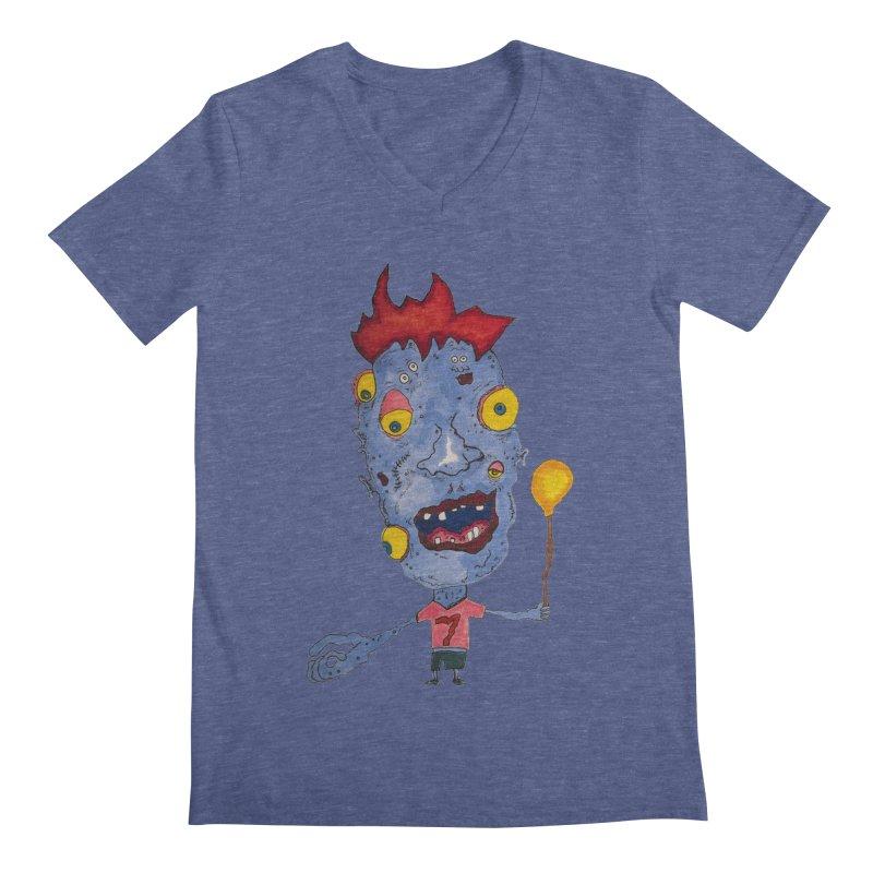 Wonder Boy! Men's V-Neck by Baston's T-Shirt Emporium!