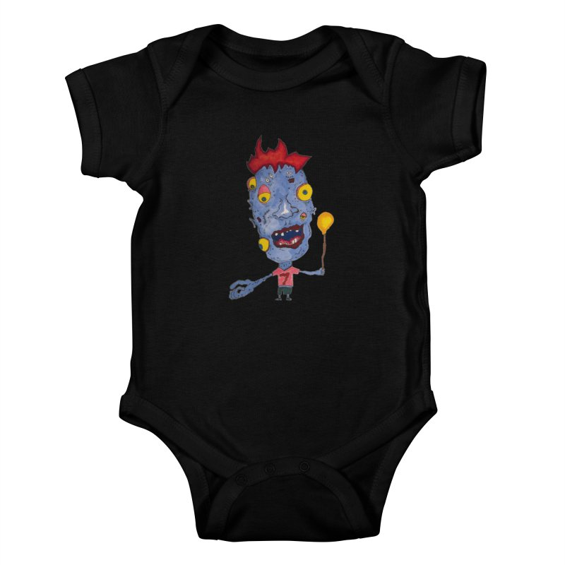 Wonder Boy! Kids Baby Bodysuit by Baston's T-Shirt Emporium!