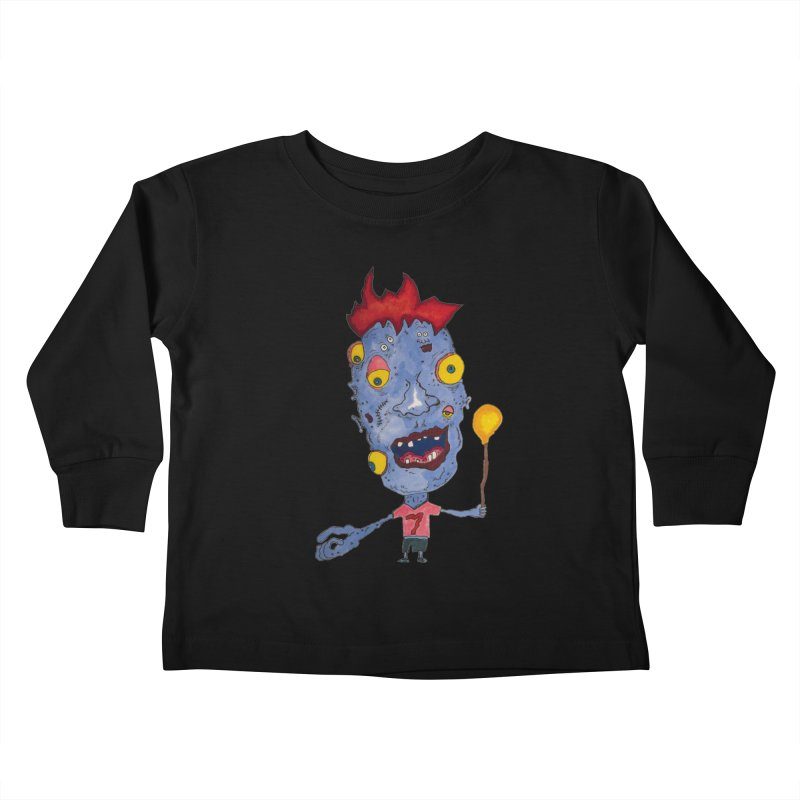 Wonder Boy! Kids Toddler Longsleeve T-Shirt by Baston's T-Shirt Emporium!