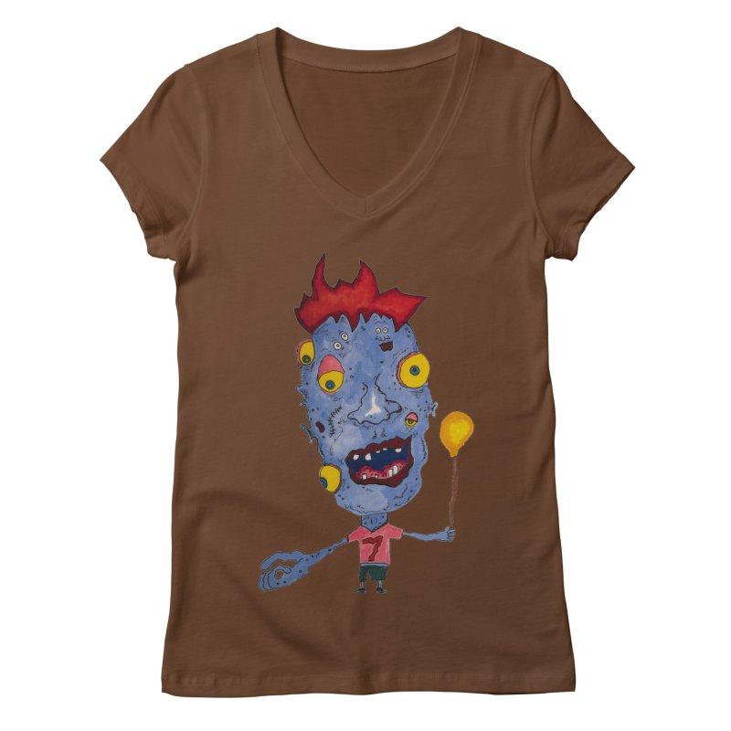 Wonder Boy! Women's V-Neck by Baston's T-Shirt Emporium!