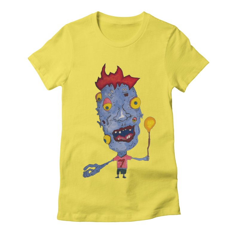 Wonder Boy! Women's Fitted T-Shirt by Baston's T-Shirt Emporium!