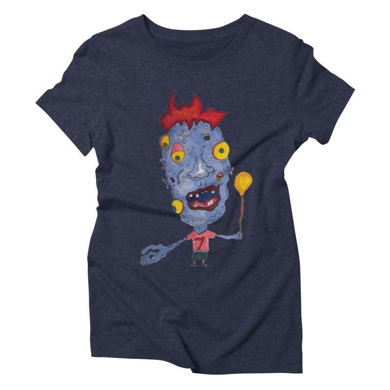 Wonder Boy! Women's Triblend T-Shirt by Baston's T-Shirt Emporium!