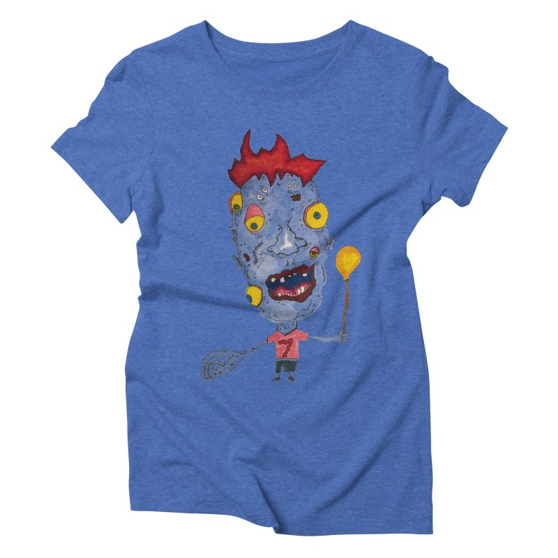 Wonder Boy! Women's Triblend T-shirt by Baston's T-Shirt Emporium!