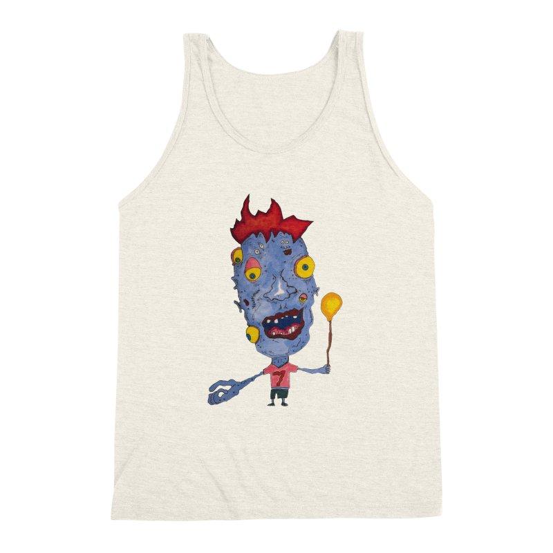 Wonder Boy! Men's Triblend Tank by Baston's T-Shirt Emporium!