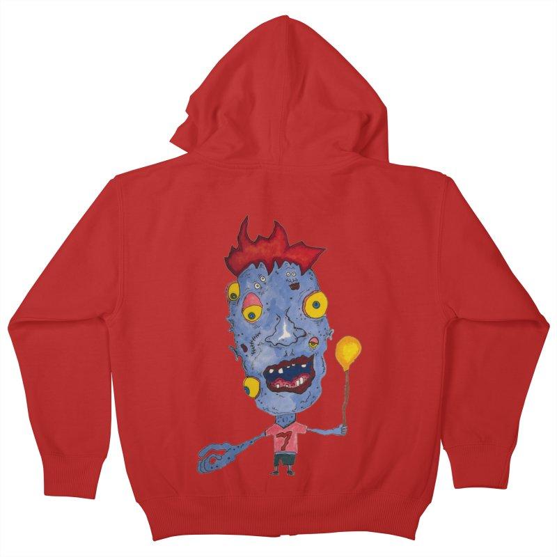 Wonder Boy! Kids Zip-Up Hoody by Baston's T-Shirt Emporium!