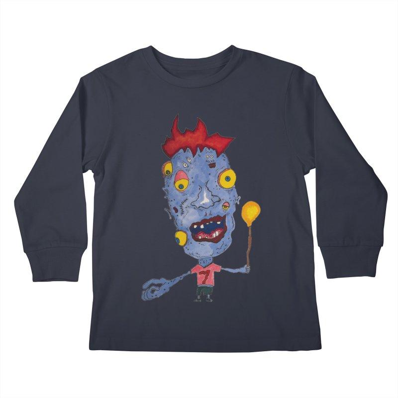Wonder Boy! Kids Longsleeve T-Shirt by Baston's T-Shirt Emporium!