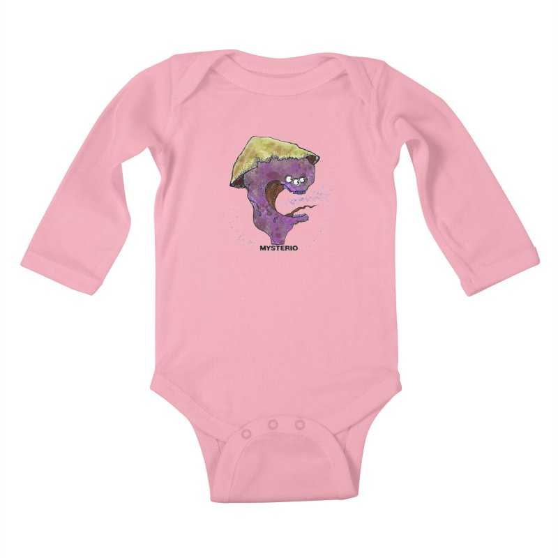 Serpent Ghost of Asia Kids Baby Longsleeve Bodysuit by Baston's T-Shirt Emporium!