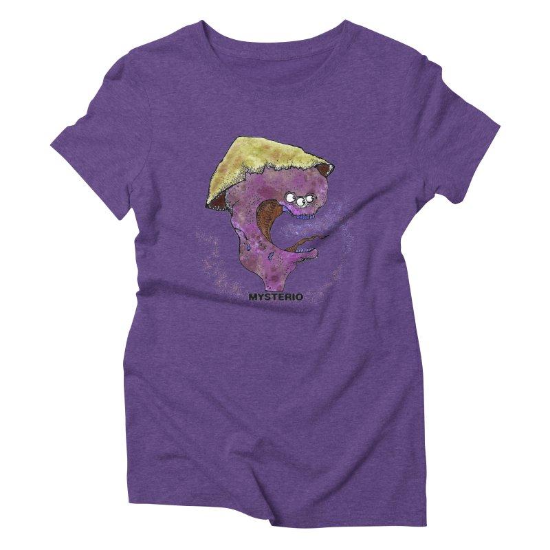 Serpent Ghost of Asia Women's Triblend T-Shirt by Baston's T-Shirt Emporium!
