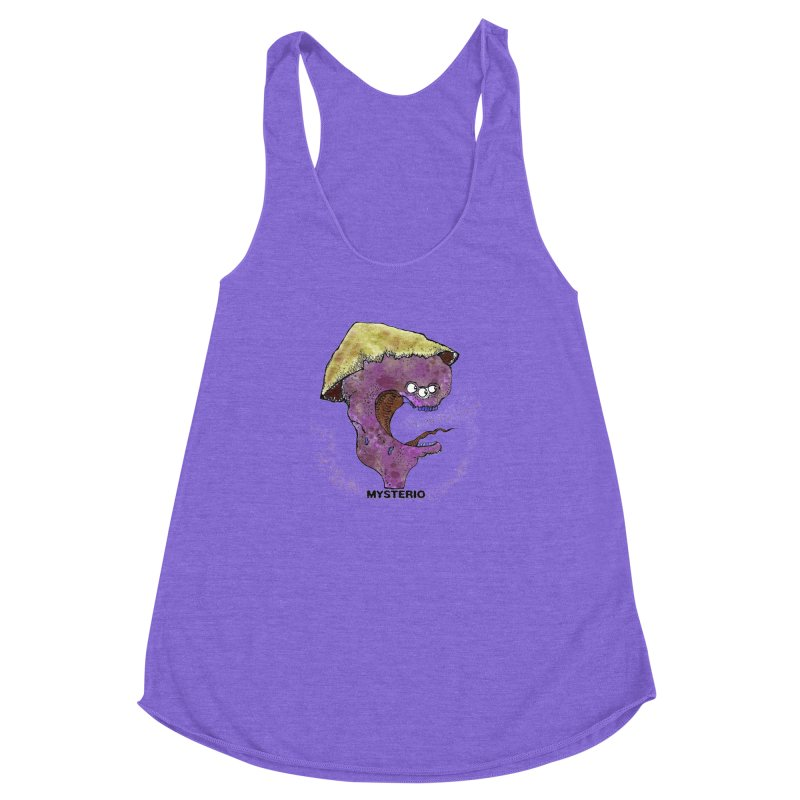 Serpent Ghost of Asia Women's Racerback Triblend Tank by Baston's T-Shirt Emporium!