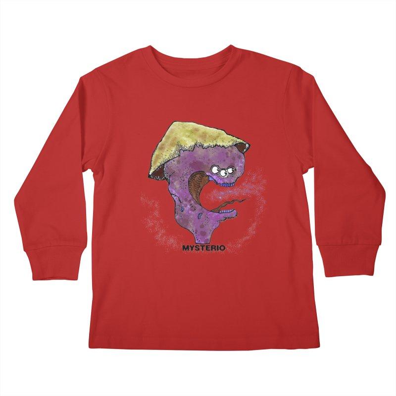 Serpent Ghost of Asia Kids Longsleeve T-Shirt by Baston's T-Shirt Emporium!
