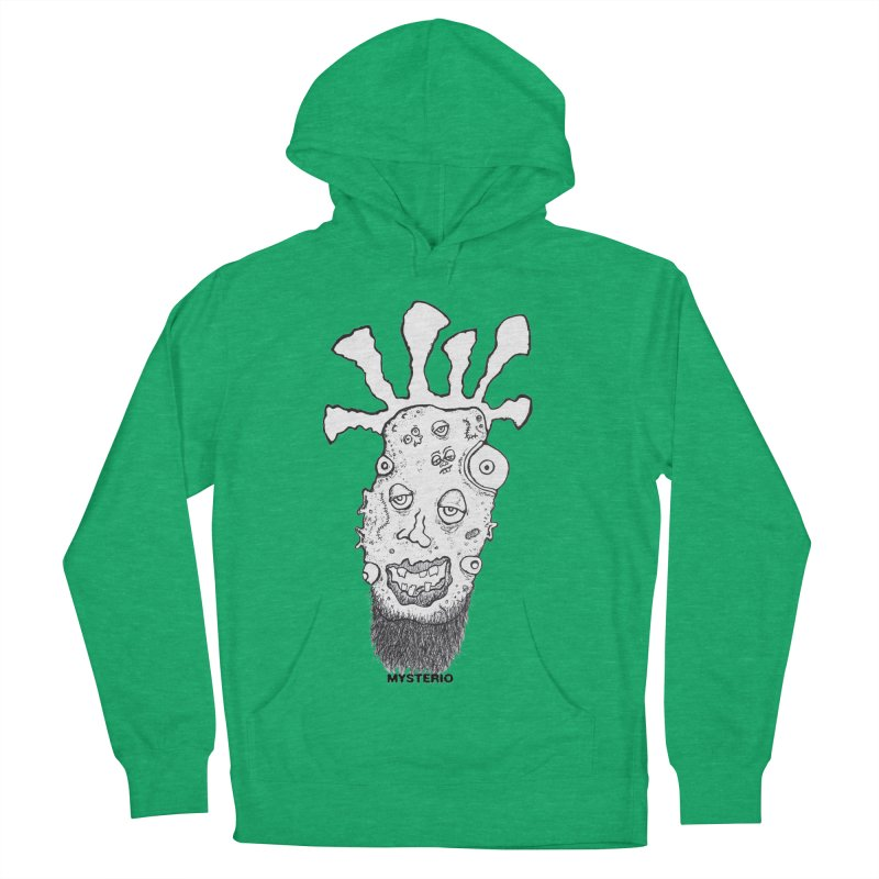 Hipster Jimi Women's Pullover Hoody by Baston's T-Shirt Emporium!