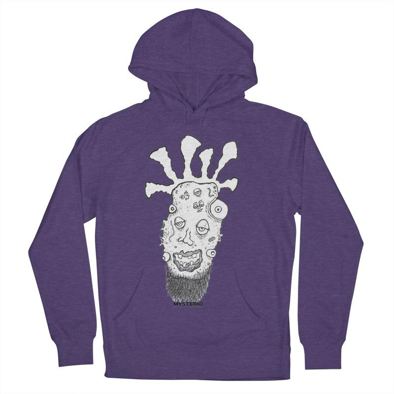 Hipster Jimi Men's Pullover Hoody by Baston's T-Shirt Emporium!