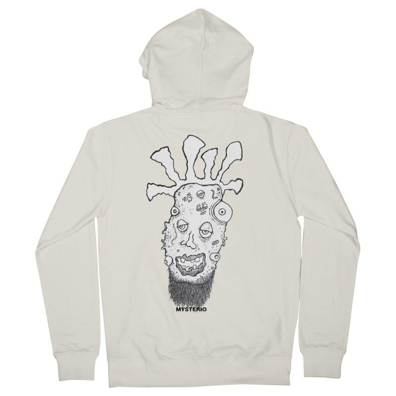 Hipster Jimi Women's Zip-Up Hoody by Baston's T-Shirt Emporium!