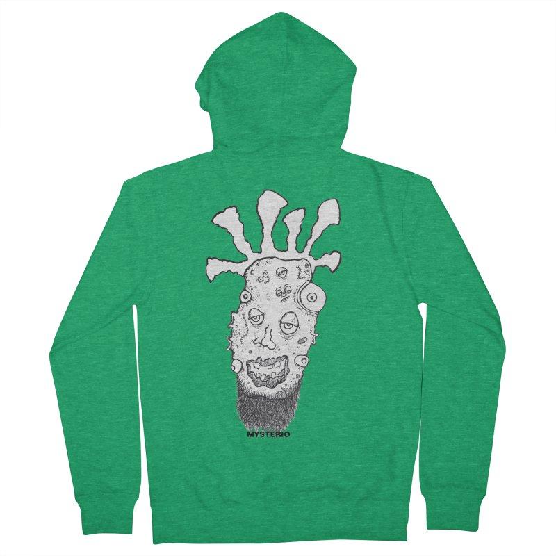 Hipster Jimi Men's Zip-Up Hoody by Baston's T-Shirt Emporium!