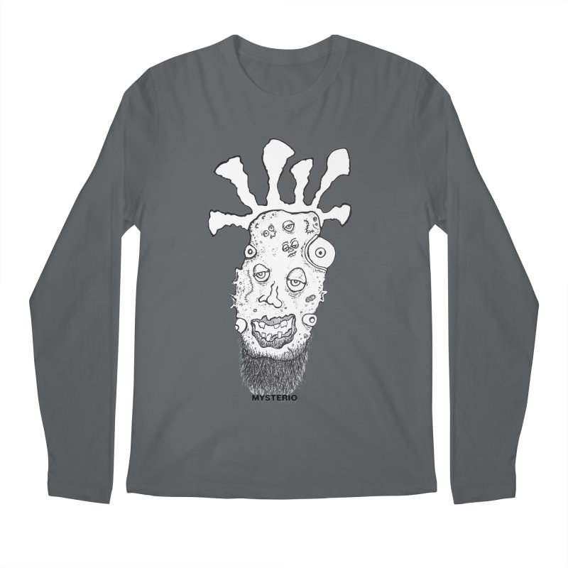 Hipster Jimi Men's Longsleeve T-Shirt by Baston's T-Shirt Emporium!