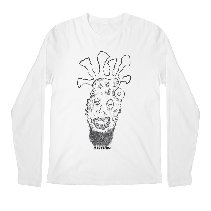 Hipster Jimi Men's Longsleeve T-Shirt by Baston's T-Shirt Emporium!