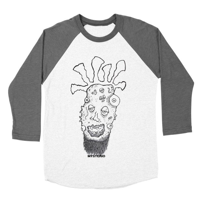 Hipster Jimi Men's Baseball Triblend T-Shirt by Baston's T-Shirt Emporium!