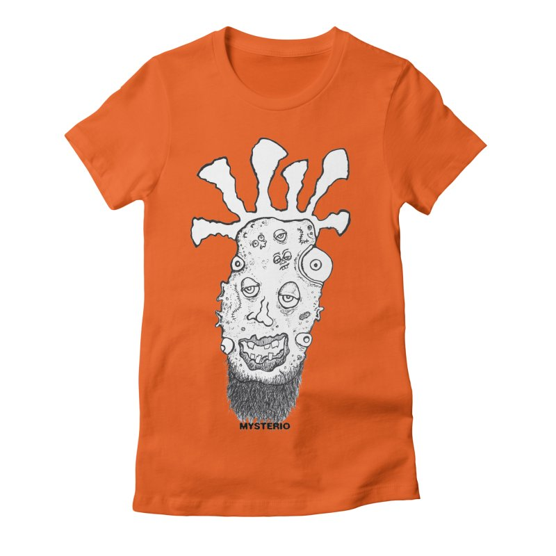 Hipster Jimi Women's Fitted T-Shirt by Baston's T-Shirt Emporium!