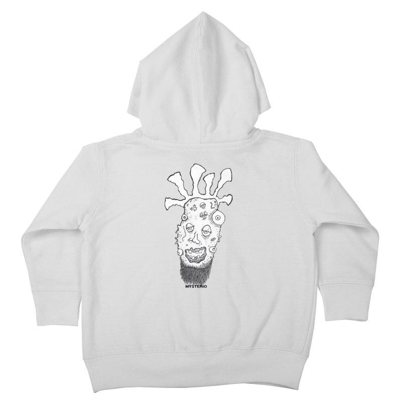 Hipster Jimi Kids Toddler Zip-Up Hoody by Baston's T-Shirt Emporium!