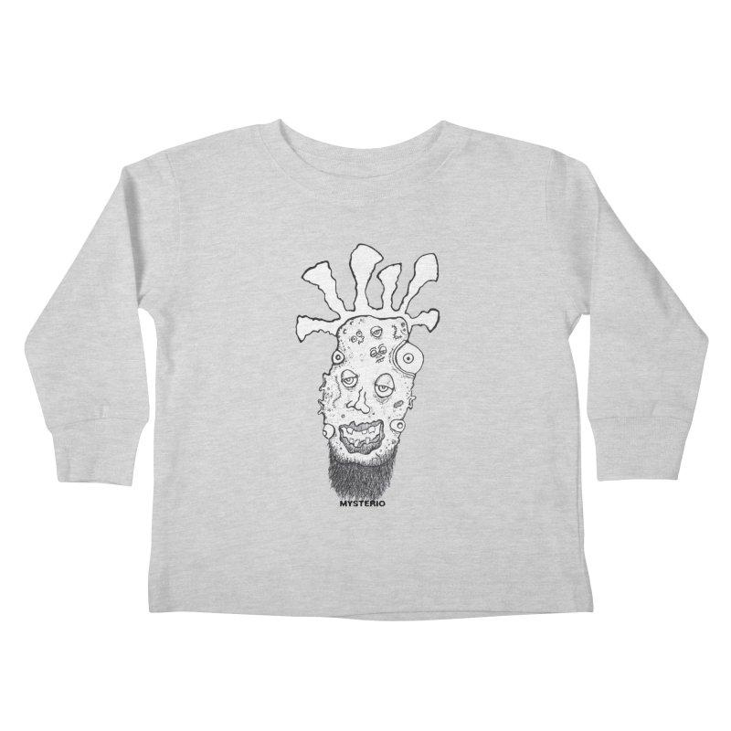 Hipster Jimi Kids Toddler Longsleeve T-Shirt by Baston's T-Shirt Emporium!