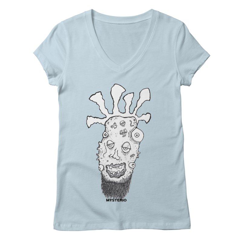 Hipster Jimi Women's V-Neck by Baston's T-Shirt Emporium!